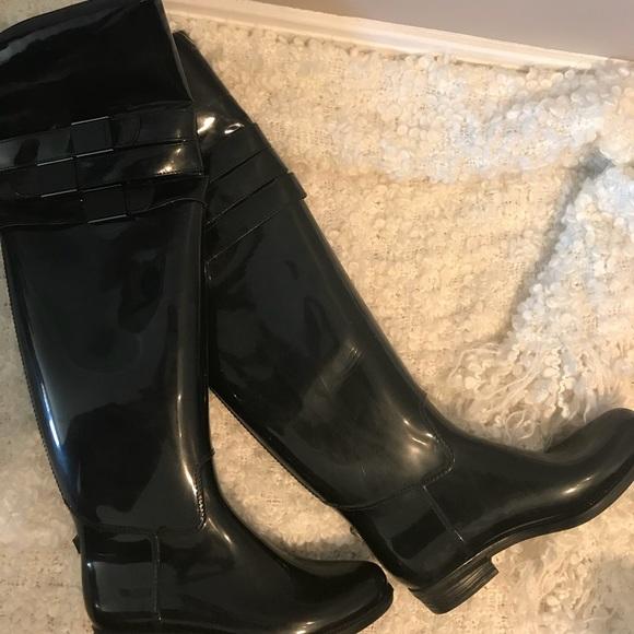 8122060039d Calvin Klein Shoes - Calvin Klein Over the Knee rain boots